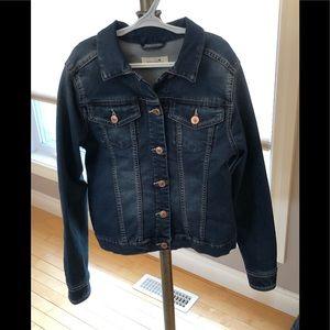 Bootlegger Girls Styling Medium Jean Jacket, EUC